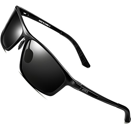 d906ea5613 Polarized sunglasses cut glare and haze so your eyes are more comfortable  and you can see better. Aluminum ...