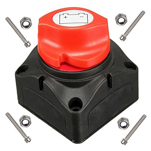 anjoshi battery switch master isolator cut off kill switch. Black Bedroom Furniture Sets. Home Design Ideas